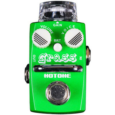 Hotone Audio Grass Overdrive Guitar Effects Pedal