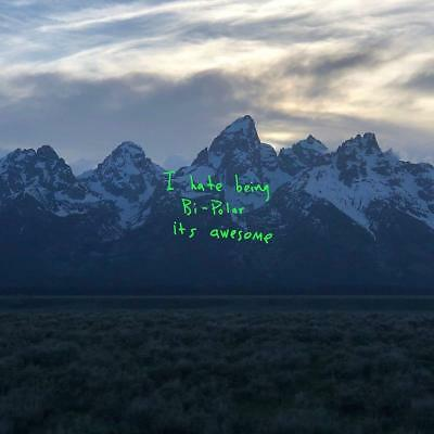 Kanye West YE I Hate Being Bi-Polar, Its Awesome DEF JAM RECORDINGS New Vinyl LP