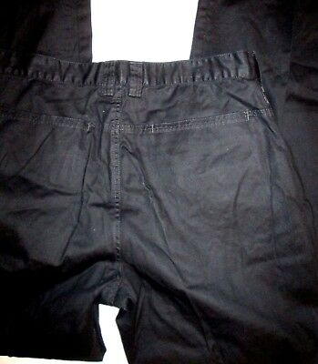 53fe6ff3c626fd A X Armani Exchange Size 34 X 33 Straight Leg Coated Black Jeans Pants