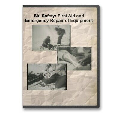 Ski Safety: First Aid and Emergency Repair of Equipment Military Training - C593