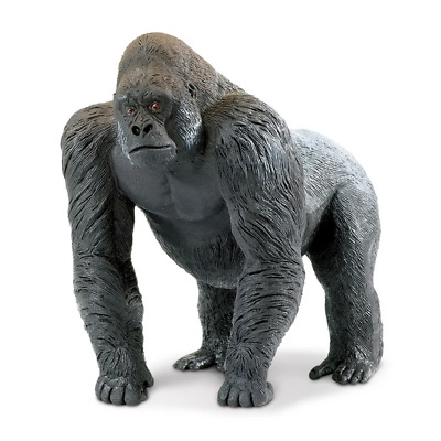 Safari Ltd Saf111589 Silverback Gorilla, Wildlife Wonders