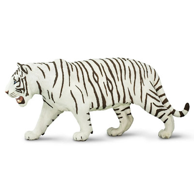 Safari Ltd Saf112089 White Siberian Tiger, Wildlife Wonders