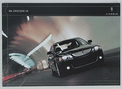 Lincoln 2006 LS Flip Open Sales Brochure / Literature