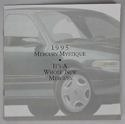 Lincoln Mercury 1995 Mystique Sales Brochure / Literature