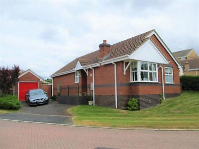 3 Bed Detached Bungalow & Small Orchard For Sale In Award Winning Devon Village