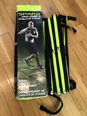 2d0261602 Nike Sparq Training Speed Agility Ladder Athletic Fitness Football Equipment