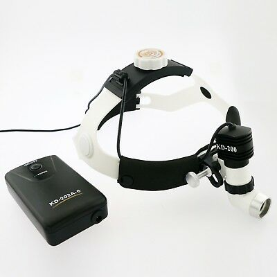 5W Dental Gynecology Surgery KD-202A-6 LED Medical Surgical Head Light Headlamp