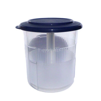 Tupperware Pick A Deli Beetroot Keeper Round Table Collection Navy 1.25 L NEW!