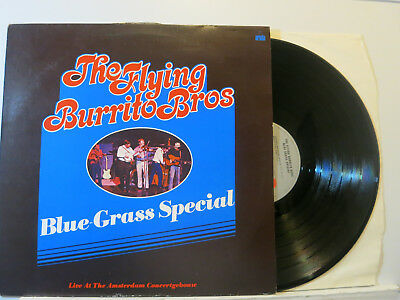The Flying Burrito Bros. - Blue-Grass Special - Amsterdam LP 1973 Ariola D NMint