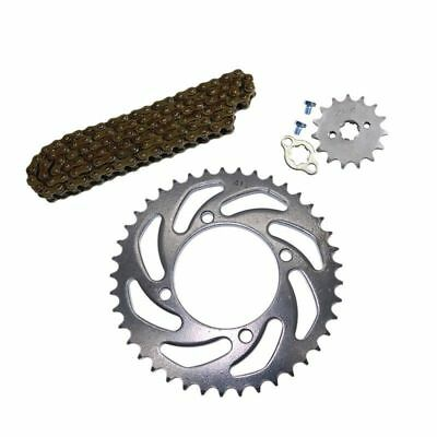 Motorcycle 428 41T Rear Chain Sprocket +108 Links Drive Chain+15T Sprocket Parts
