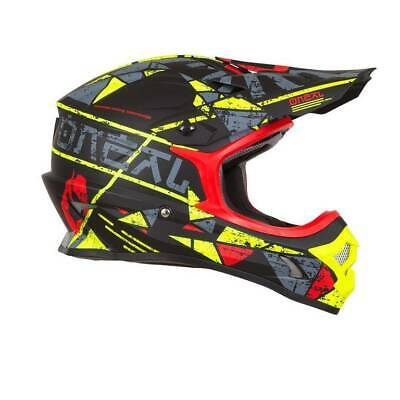 Casco Moto Cross Serie 3 O'neal  Helium Red