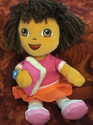 TY BEANIE BABY- Dora The Explorer (Back To School version) 7 inch ... 236558f90baa
