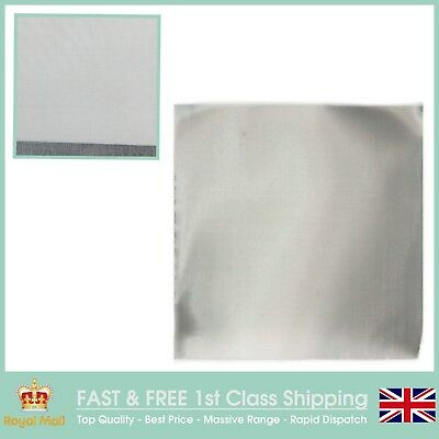 Fine Filter Mesh (145 LPI x 0.052mm Wire x 0.123mm Hole) SS304- 15cm Square