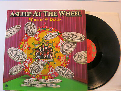 Asleep at the Wheel - Wheelin' and Dealin' Lp 1976 Capitol Germany+Archive NMint