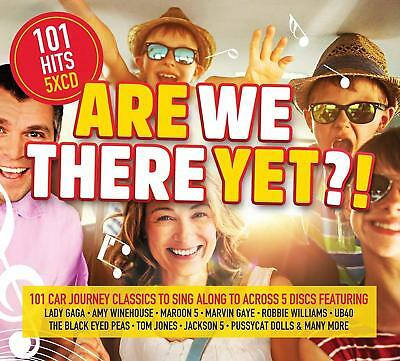Are We There Yet? 101 Car Songs 5 Cd Set Various Artists 2018