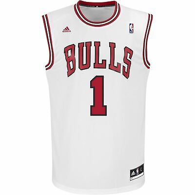 Adidas NBA Chicago Bulls Trikots Xs S M L XL Derrick Rose Basketball