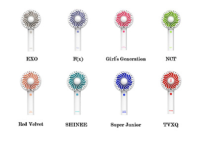 K-POP Portable Mini Hand-held Summer Cooling Fan(EXO/F(x)/Girls etc)