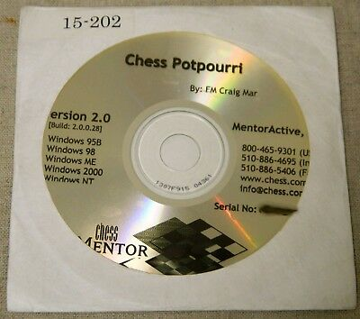 NEW! Chess Mentor Learning Modules Chess Software