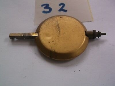 A PENDULUM FROM AN OLD  MANTEL CLOCK  67 g REF 32