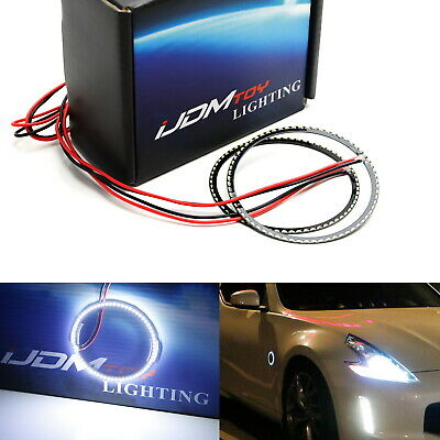 66-SMD White Z4 Style LED Illuminating Rings For Nissan 350Z 370Z Side Markers