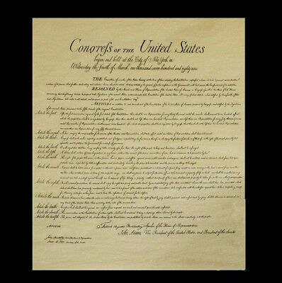 3 Reproduction:Bill of Rights,US Constitution,Declaration of Independence