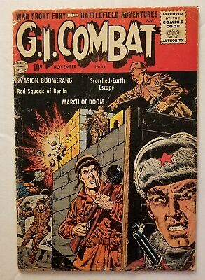 G.i. Combat #42 (Quality Comics 1956) Golden Age Pre Code War Comics!