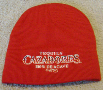 Tequila CAZADORES Stitched Winter Beanie / Skull Cap / Hat NEW