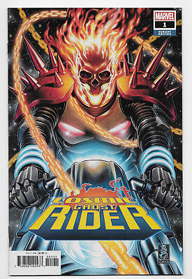 Cosmic Ghost Rider #1 Marvel Comics 2018 Mark Brooks 1:50 Variant Cover Thanos