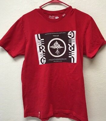 535239f9b3322 LRG LIFTED RESEARCH Group Men T-Shirt 100% Cotton Red Size Medium ...