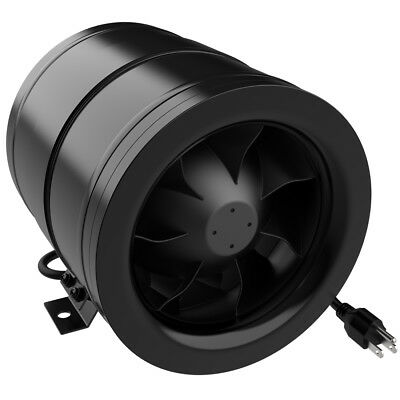 """6"""" 8"""" inch Mixed Flow Inline Duct Fan Vent Exhaust Air Blower for Ventilation"""