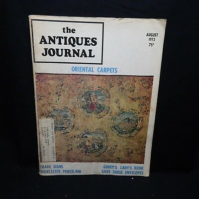 The Antiques Journal August 1973