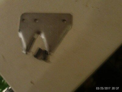 right hand-hay mower/conditioner double end section w/rivets