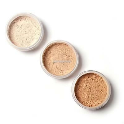 Beauty Rice Powder with Puff Translucent Women Face Cosmetic Make up Powder