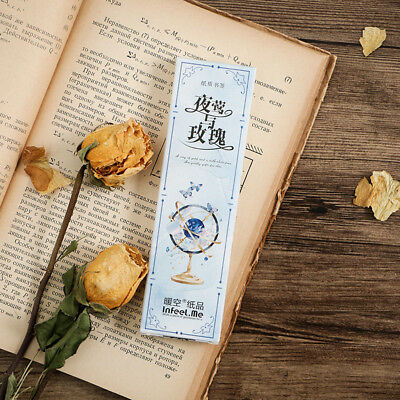 30pc/Box Nightingale And Rose Bookmark Book Mark Magazine Note Label Memo Gifts