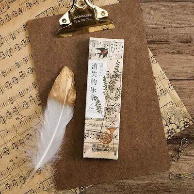 30pc/Box Disappearing Musical Note Bookmark Book Mark Magazine Note Label Memo