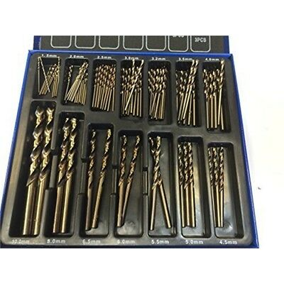 High Quality 99 Piece M35 Cobalt Drill Bits Set For Stainless Steel M35 Metal -