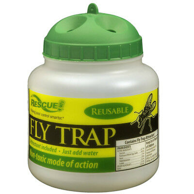 Rescue! FTR-DT12 Reusable Fly Trap with Attractant