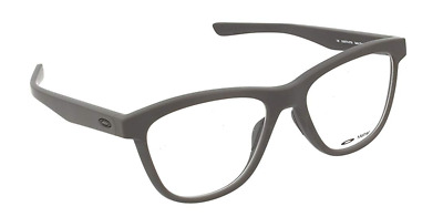 581ccc43093 Authentic OAKLEY Grounded Satin Flint Rx Eyeglasses OX8070-07  NEW  53mm
