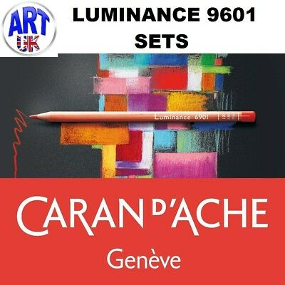 Caran d'Ache LUMINANCE 6901 GIFT SET artists permanent lightfast coloured pencil