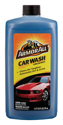 New!!! Armor All Concentrated Liquid Car Wash Detergent 24 oz. 25024 Clean-rinse