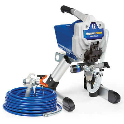 Graco Magnum Pro X19 Stand Airless Paint Sprayer 17G179 ProX19 new gun & hose!