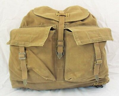 Czech Military Backpack /Haversack / Day Bag, Used Very Good Condition