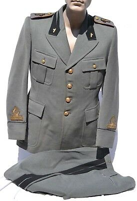 Italian Fascist Mvsn Uniform Jacket & Pants Black Shirts Mussolini Camice Nere