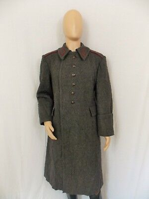 Bulgarian Military Heavy Wool Trench Coat / Great Coat size: Large, Unissued