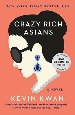 Crazy Rich Asians - Kevin Kwan (, Book New)