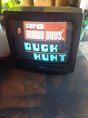 """New Vintage Admiral 13"""" Color Television TV Gaming tv for old school gamers!!!!!"""