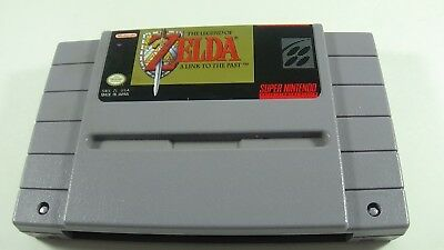 The Legend of Zelda A Link To The Past - SNES - Tested Works!