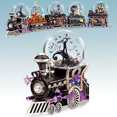 All Aboard Halloween Jack Water Globe Train 1 Only Nightmare Before Christmas
