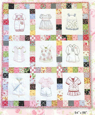 Betsy's Closet - In Stitches Quilt Kit - pattern by Acorn Quilt & Gift Company