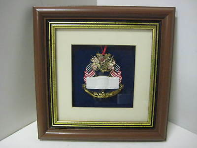 WHITE HOUSE CHRISTMAS ORNAMENT 1995 2nd+ ORNAMENTS SHIP FREE- EXPERTLY FRAMED!